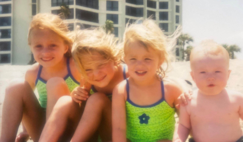 Kids at Fort Pierce Beach