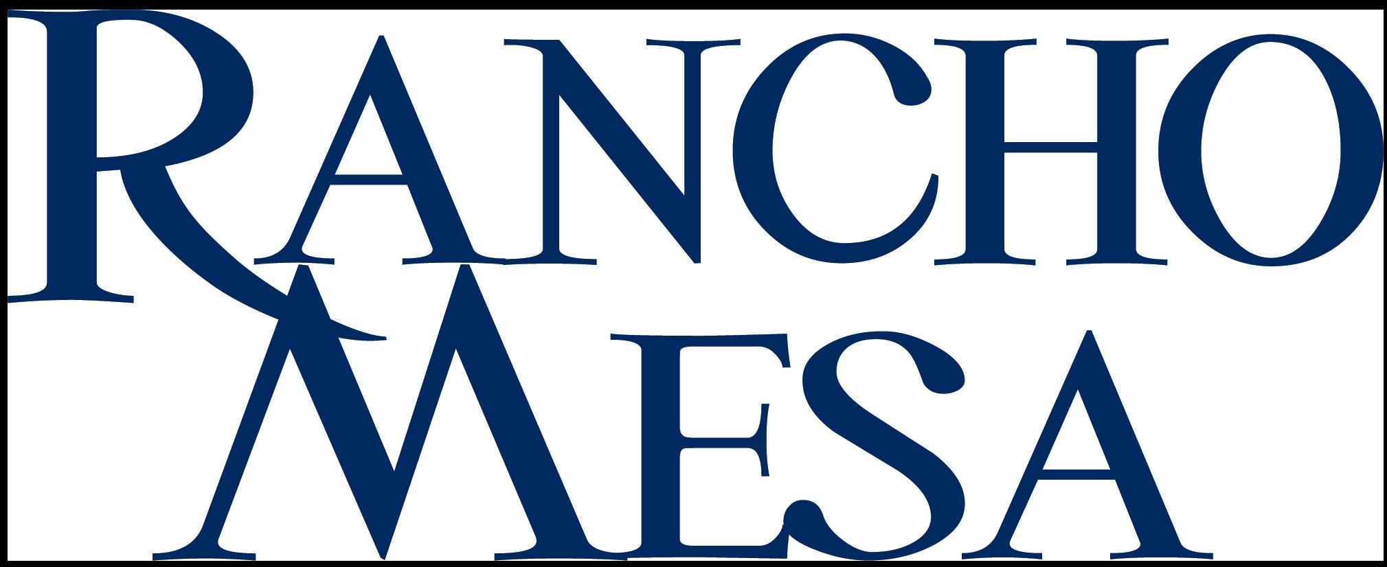 Rancho Mesa Blue Logo